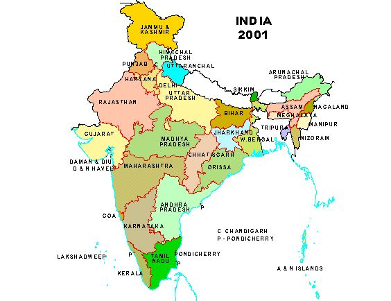 Language in india map of india courtesy census of india gumiabroncs Image collections